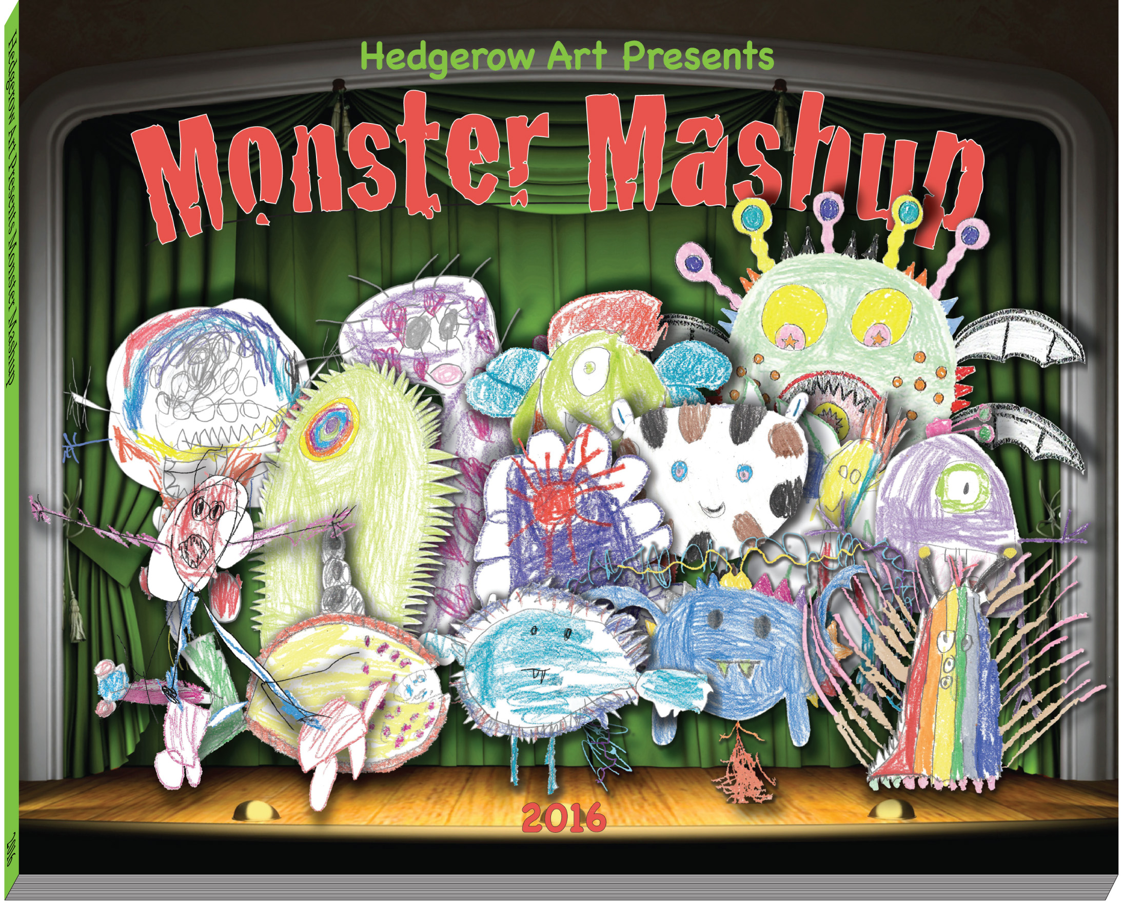 Monster Mash Up Book Hedgerow arts fredericksburg VA