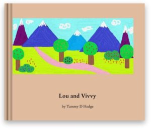 lou and vivvy book by tammy hedge