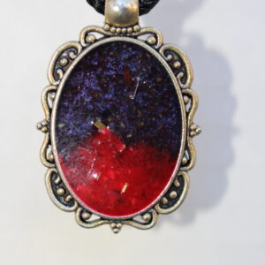 Extra Large Galaxy Pendant for Bracelet Jewelry by tammy hedge