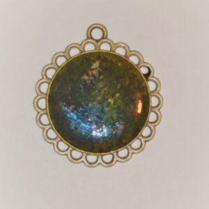 LArge Galaxy Flower Hedgerow Arts Tammy Hedge Fredericksburg VA Jewelry