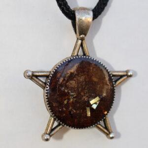 Large Cedar Star Hedgerow ARt