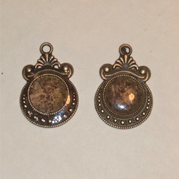 medium cedar earrings drop 4821