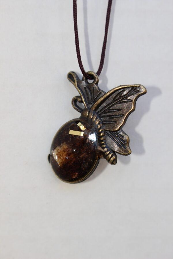 small cedar butterfly hedgerow art