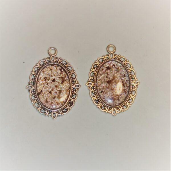 sparkle earrings drop 4821