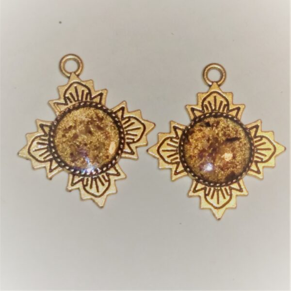 star earrings medium